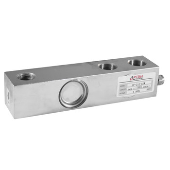 Optima OP-310-SSW-0.5 500 lb Stainless Steel Single Ended Beam Load Cell