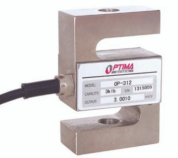Optima OP-312-1.5 1500 lb S-Beam Load Cell, NTEP