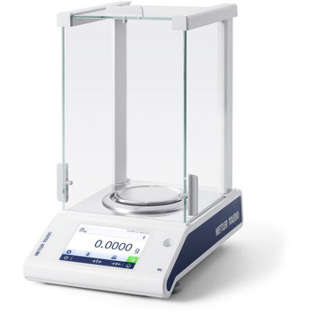 Mettler Toledo ML204T/A00 Internal Calibration Analytical Balance, 220 g x 0.1 mg, NTEP, Class I