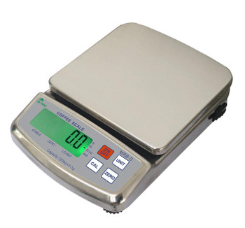 Tree MRB-S 5000 Stainless Steel Barista Coffee Scale, 5000 g x 1 g (MRB-S 5000 Coffee)