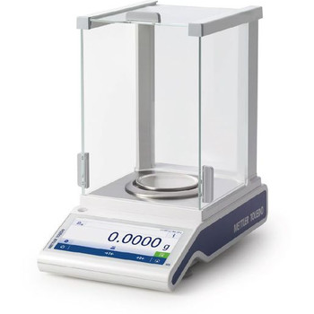 Mettler Toledo MS204TS/A00 Internal Calibration Analytical Balance, 220 g x 0.1 mg, NTEP, Class I