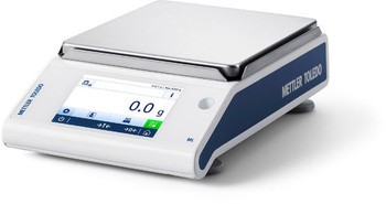 Mettler Toledo MS6002TS/A00 Internal Calibration Precision Balance, 6200 g x 0.01 g, NTEP