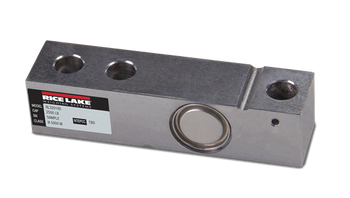Rice Lake Weighing Systems RL32018S 2,500 lb Stainless Steel Single Ended Beam Load Cell, NTEP