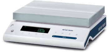 Mettler Toledo MS12001L/A03 Internal Calibration Precision Balance, 12,200 g x 0.1 g, NTEP, Class II