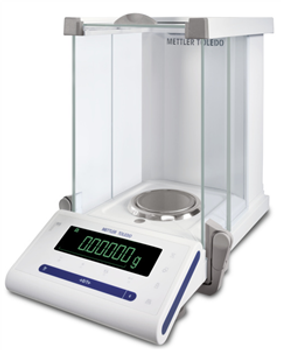 Mettler Toledo MS205DU/00 Dual Range Internal Calibration Semi Micro Balance, 82 g / 220 g x 0.01 / 0.1 mg