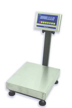 WeighSouth WS300XL10 Bench Scale, 300 lb x 0.1 lb, NTEP, Class III