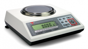Torbal AD520 External Calibration Precision Balance, 520 g x 0.001 g