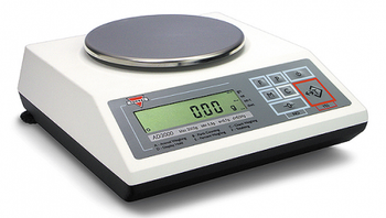 Torbal AD1200 External Calibration Precision Balance, 1200 g x 0.01 g
