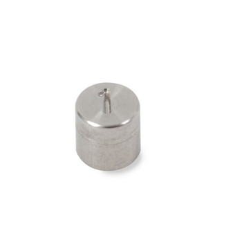 Troemner 1 g Stainless Steel Cylindrical Weight, Traceable Certificate, NIST Class F