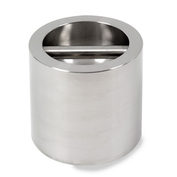 Troemner 10 kg Stainless Steel Cylindrical Weight, NVLAP Accredited Certificate, NIST Class F