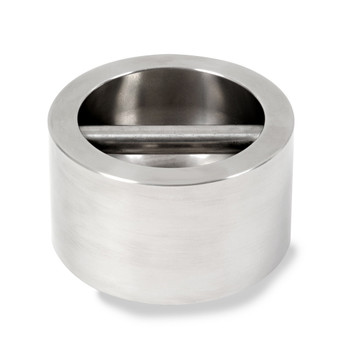 Troemner 10 lb Stainless Steel Cylindrical Weight, NIST Class F