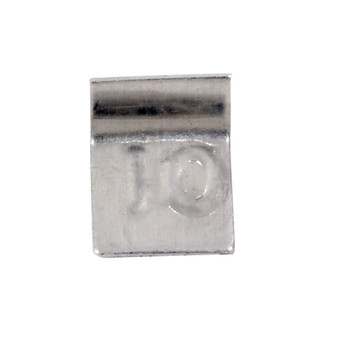 Troemner 10 mg Aluminum Flat Weight, NVLAP Accredited Certificate, NIST Class F