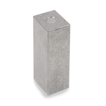 Troemner 1000 g Stainless Steel Cube Weight, NIST Class F