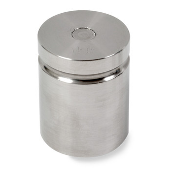 Troemner 1000 g Stainless Steel Cylindrical Weight, NVLAP Accredited Certificate, NIST Class F