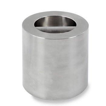 Troemner 16 kg Stainless Steel Cylindrical Weight, NVLAP Accredited Certificate, NIST Class F