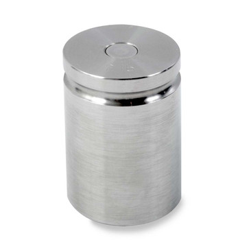 Troemner 2 lb Stainless Steel Cylindrical Weight, Traceable Certificate, NIST Class F