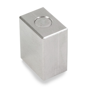 Troemner 2 oz Stainless Steel Cube Weight, NVLAP Accredited Certificate, NIST Class F