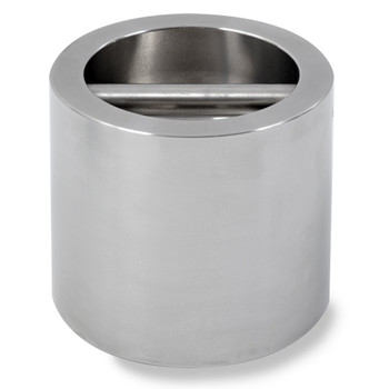 Troemner 20 lb Stainless Steel Cylindrical Weight, NVLAP Accredited Certificate, NIST Class F