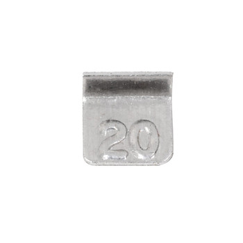 Troemner 20 mg Aluminum Flat Weight, NVLAP Accredited Certificate, NIST Class F