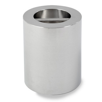 Troemner 25 kg Stainless Steel Cylindrical Weight, NVLAP Accredited Certificate, NIST Class F