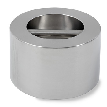 Troemner 25 lb Stainless Steel Cylindrical Weight, NVLAP Accredited Certificate, NIST Class F