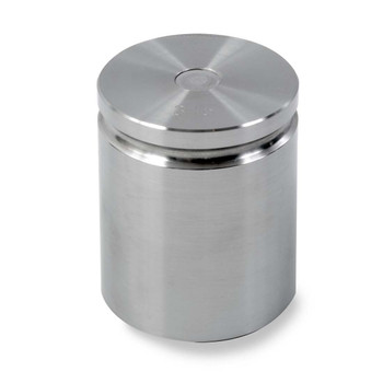 Troemner 3 lb Stainless Steel Cylindrical Weight, NVLAP Accredited Certificate, NIST Class F
