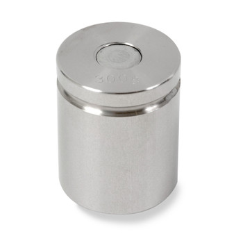Troemner 300 g Stainless Steel Cylindrical Weight, NVLAP Accredited Certificate, NIST Class F