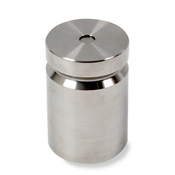 Troemner 3000 g Stainless Steel Cylindrical Weight, NIST Class F