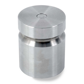 Troemner 4 lb Stainless Steel Cylindrical Weight, NVLAP Accredited Certificate, NIST Class F