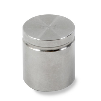 Troemner 4 oz Stainless Steel Cylindrical Weight, NVLAP Accredited Certificate, NIST Class F