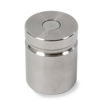 Troemner 400 g Stainless Steel Cylindrical Weight, NVLAP Accredited Certificate, NIST Class F