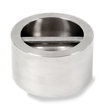 Troemner 5 kg Stainless Steel Cylindrical Weight, NVLAP Accredited Certificate, NIST Class F