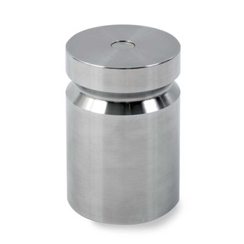 Troemner 5 lb Stainless Steel Cylindrical Weight, NIST Class F