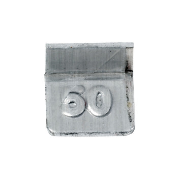 Troemner 50 mg Aluminum Flat Weight, NVLAP Accredited Certificate, NIST Class F