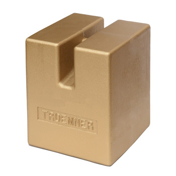Troemner 500 kg Cast Iron Grip Handle Weight, NVLAP Accredited Certificate, NIST Class F