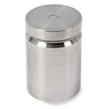 Troemner 5000 g Stainless Steel Cylindrical Weight, NVLAP Accredited Certificate, NIST Class F