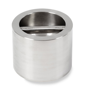 Troemner 8 kg Stainless Steel Cylindrical Weight, NVLAP Accredited Certificate, NIST Class F (30390718)