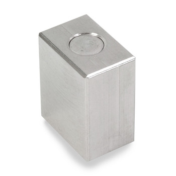 Troemner 8 oz Stainless Steel Cube Weight, Traceable Certificate, NIST Class F (30390602)