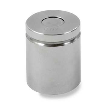 Troemner 8 oz Stainless Steel Cylindrical Weight, NVLAP Accredited Certificate, NIST Class F (30390667)