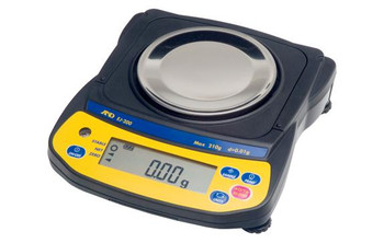 A&D Weighing Newton EJ-200 Portable Precision Balance, 200 g x 0.01 g