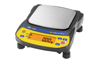 A&D Weighing Newton EJ-1202 Portable Precision Balance, 1200 g x 0.01 g