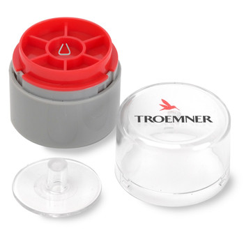 Troemner 100 mg Precision Stainless Steel Leaf Weight, NVLAP Accredited Certificate, ASTM Class 1