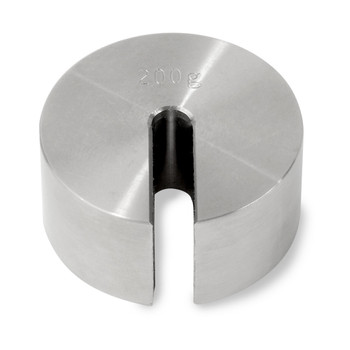Troemner 200 g Stainless Steel Slotted Weight