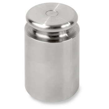 Troemner 2000 g Stainless Steel Cylindrical Screw Knob Weight