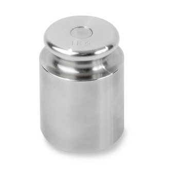 Troemner 1000 g Stainless Steel Cylindrical Screw Knob Weight