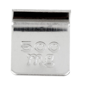Troemner 500 mg Aluminum Flat Weight