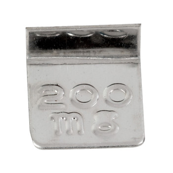 Troemner 200 mg Aluminum Flat Weight
