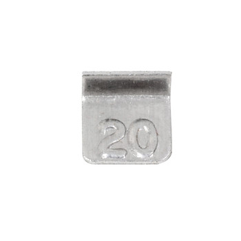 Troemner 20 mg Aluminum Flat Weight