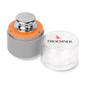 Troemner 500 g Alloy Cylindrical Screw Knob Weight