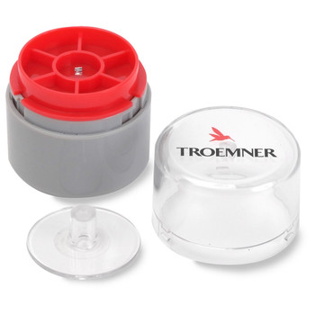 Troemner 3 mg Aluminum Flat Weight, No Certificate, UltraClass